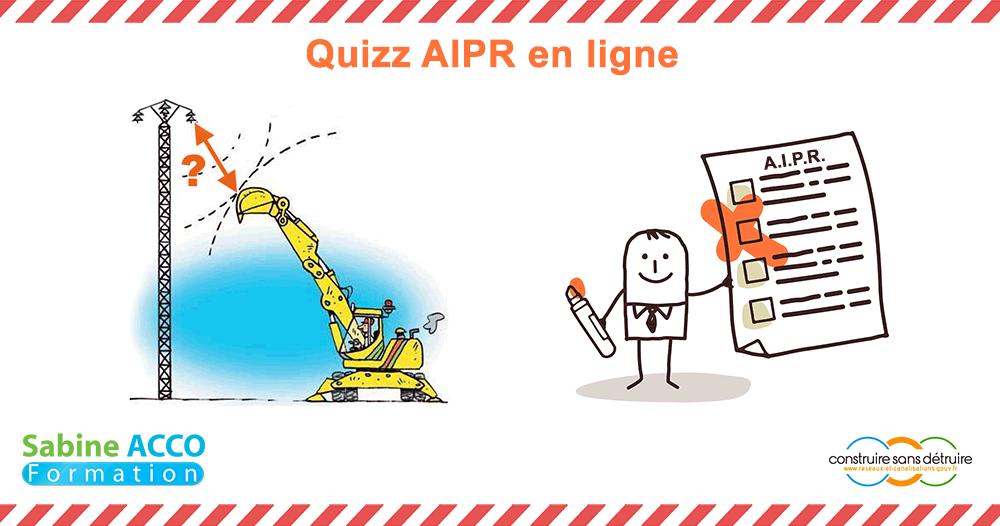 Avez-vous besoin d'une formation AIPR d'une journée avant de passer l'examen? Avec notre quizz AIPR gratuit, évaluez vos connaissances en 5 minutes.