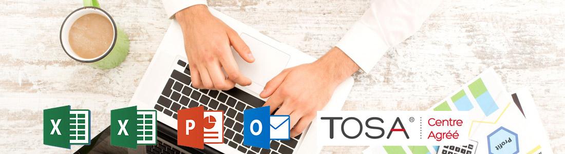 Le TOSA, acronyme de Test on Software Applications, est un outil qui permet d'évaluer et de certifier les compétences informatiques en bureautique